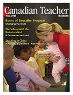 Canadian Teacher Magazine Fall 2005