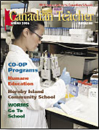 Canadian Teacher Magazine Spring 2006