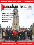 Canadian Teacher Magazine Nov/Dec 2009