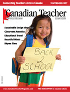 Canadian Teacher Magazine April/May 2009