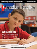 Canadian Teacher Magazine Jan/Feb 2009