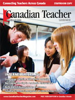 Canadian Teacher Magazine Jan/Feb 2010