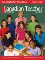 Canadian Teacher Magazine Nov/Dec 2010