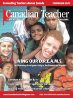 Canadian Teacher Magazine Sept/Oct 2010