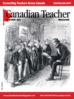Canadian Teacher Magazine Jan/Feb 2011