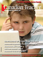 Canadian Teacher Magazine Nov/Dec 2011