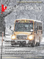 Canadian Teacher Magazine Jan/Feb 2012