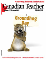 Canadian Teacher Magazine Jan/Feb 2013