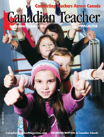 Canadian Teacher Magazine Sept/Oct 2013